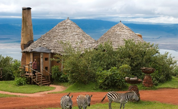 Ngorongoro Crater Lodge AndBeyond (צילום: Ngorongoro Crater Lodge AndBeyond)