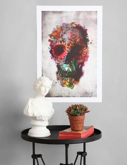 אורבן אאוטפיטרס, הדפס גולגולת ופרחים (צילום: Urban Outfitters)