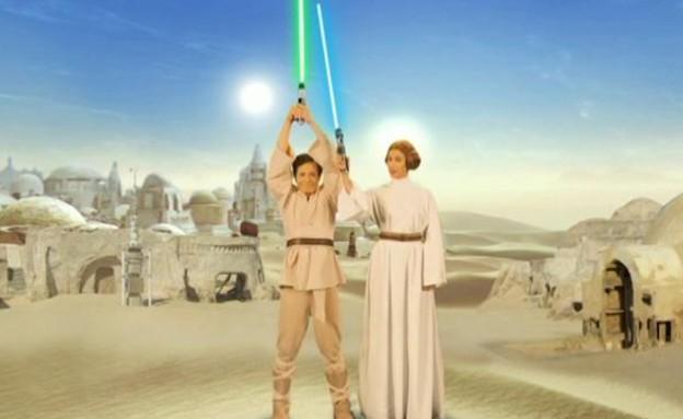 מלחמת הכוכבים: בחירות 2015 (תמונת AVI: מתוך ארץ נהדרת, קשת)