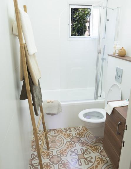 טעויות עיצוב, חדר רחצה, עיצוב יונית שטרן , תיקון מ (צילום: אביבית ויסמן)