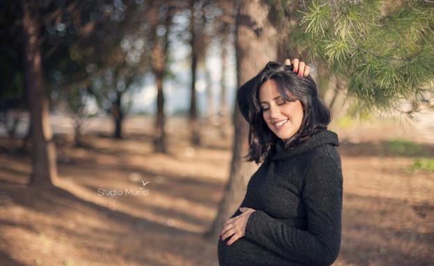 מוריאל פיסלזון - היריון חורפי (צילום: סטודיו מוריאל)