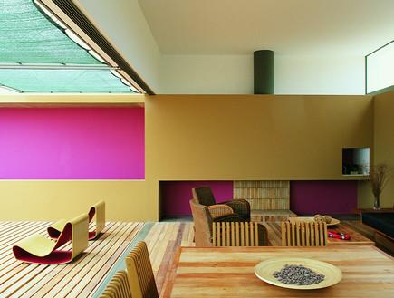 בית אקיס, פינת אוכל (צילום: Barclay & Crousse)