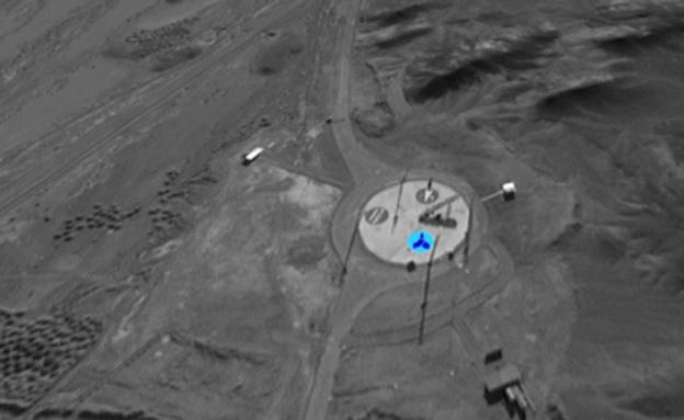 צפו: אתרי פיתוח הטילים באירן בצילומי הלוויין