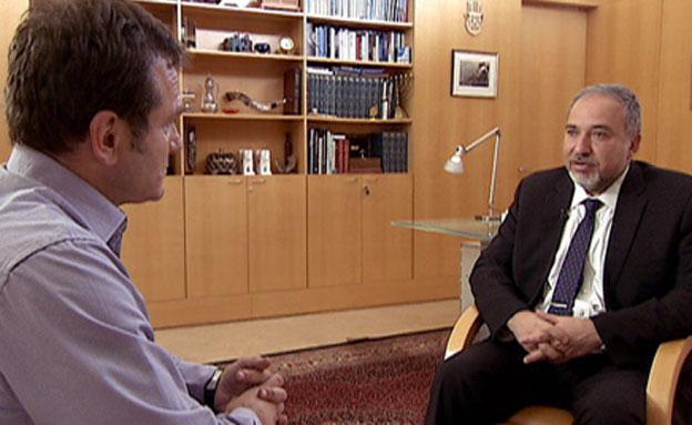 """אבו מאזן באו""""ם – ואיפה ישראל? (צילום: חדשות 2)"""