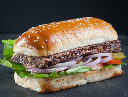המבורגר טבעוני פילדלפיה