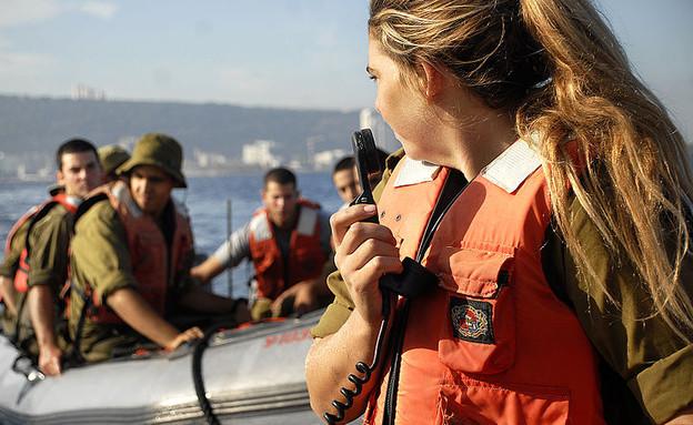 """נשים בחיל הים (צילום: דובר צה""""ל)"""