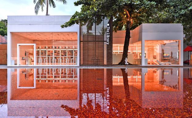 מלונות בתאילנד, מינימליזם (צילום: The Library)