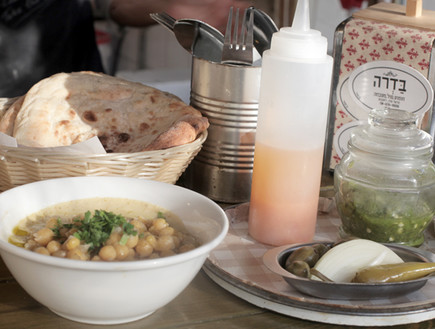 בדרה חומוסייה רחובות (צילום: ג'רמי יפה, אוכל טוב)
