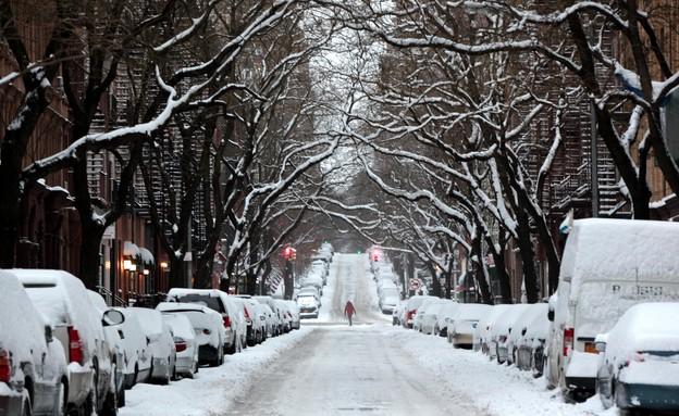 שלג למגזין - שלג בניו יורק  (צילום: Yana Paskova, GettyImages IL)