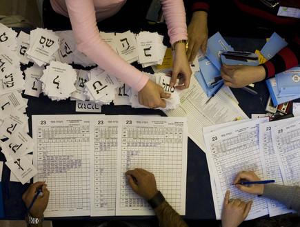 ועדת קלפי סופרת את הקולות, בחירות 2009