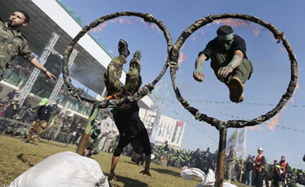 כך נראית קייטנת חמאס (צילום: רויטרס)