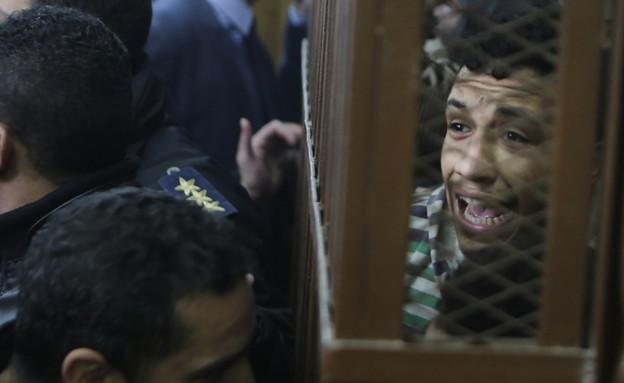 משטרת מצרים פשטה על בית מרחץ לגייז  (צילום: Sakchai Lalit | AP)