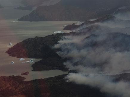 שריפה בפארק הלאומי בצ'ילה| ארכיון (צילום: רויטרס)