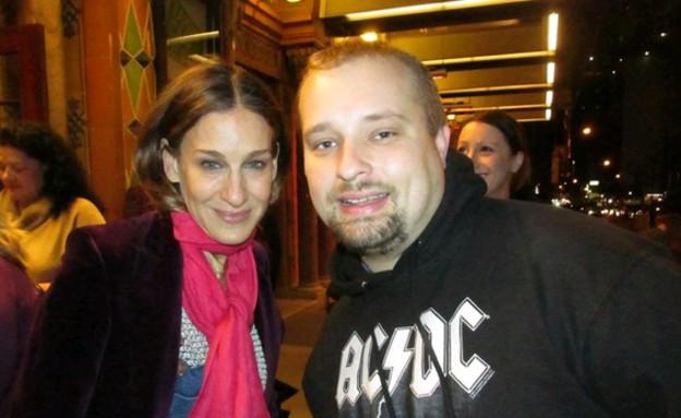 ג'רמיה אורסקי- סלפי עם סלבס (צילום: facebook.com/jeremiah.oresky)