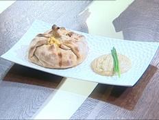 שקשוקה ארוזה בפיתה (צילום: קשת, מאסטר שף VIP)