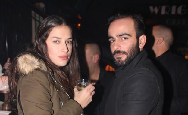 אליאב אוזן ואנה בול (צילום: אור גפן)