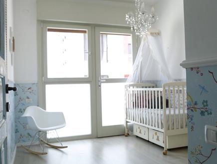 אנה גולדברג, תינוק