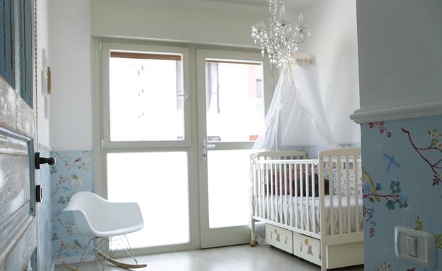 אנה גולדברג, תינוק   (צילום: דרור סיתהכל)