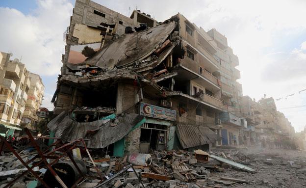 האם בוצעו פשעי מלחמה? ארכיון (צילום: AP)