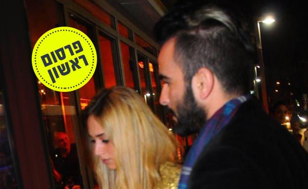 פרסום ראשון: דנית ואליאב יחד (צילום: ברק פכטר)