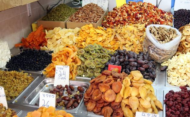 פירות יבשים מיוחדים (צילום: עודד קרני)