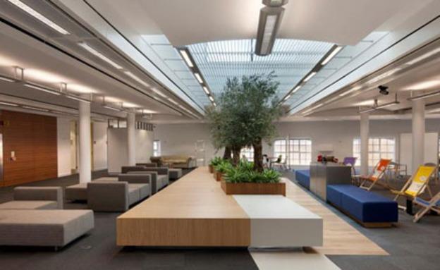 צפו: כך נראים משרדי חברות ההייטק (צילום: פייסבוק)