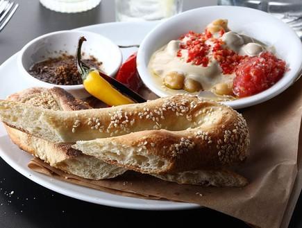 בייגלה ירושלמי, מסעדת סנטה קתרינה (צילום: אפיק גבאי, אוכל טוב)