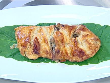 מאפה בשר עם שמנת (צילום: קשת, מאסטר שף VIP)