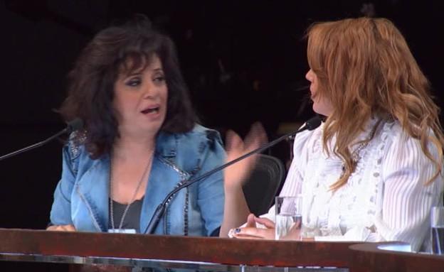 הויכוח של משפחת גולד  (תמונת AVI: מתוך משפחה בהופעה, ערוץ 24)
