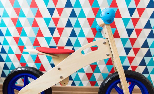 טעויות עיצוב בחדר ילדים,  פתרון 5 ב' עיצוב יונית  (צילום: אביבית ויסמן)