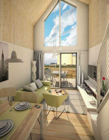 בית קטן ביום, גובה (צילום: Heijmans ONE)