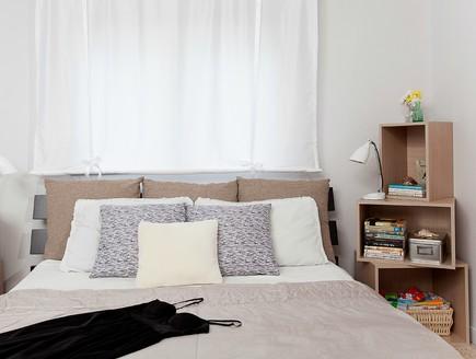 מהפך לחדר שינה פותחת (צילום: טטיאנה פאוטוב)