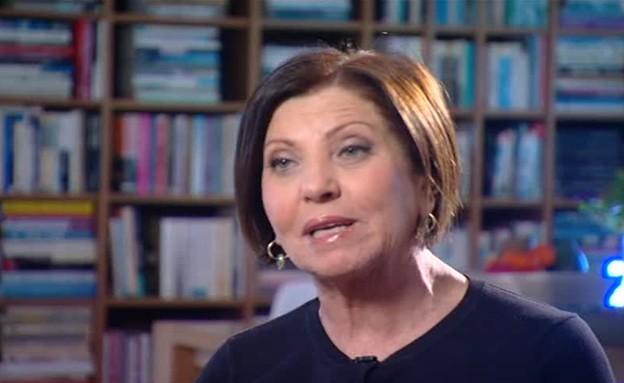 ראיון עם זהבה גלאון לקראת הבחירות (תמונת AVI: מתוך אנשים, שידורי קשת)