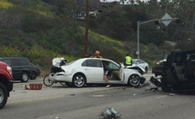 ברוס ג'אנר תאונת דרכים