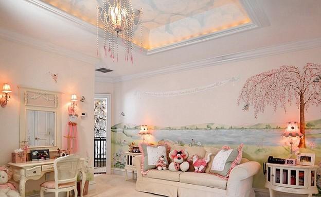 חדר נסיכות  (צילום: dahliadesign)