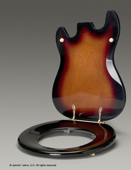 החמישייה 9.2, אסלת גיטרה (צילום: Jammin' Johns)