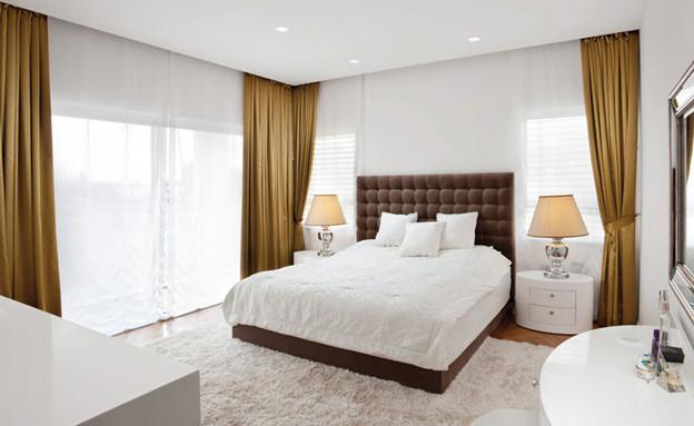 דניאל חסון, חדר שינה  (צילום: אורי אקרמן)