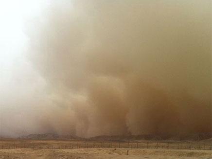סופות חול בדרום (צילום: בת-אל כהן)