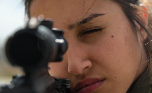 """לוחמות מג""""ב באבו דיס (צילום: חטיבת דוברות המשטרה)"""