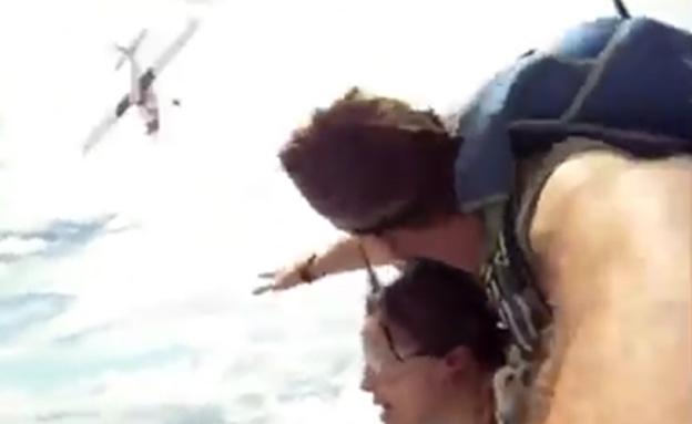 צפו: שניות מאסון בשמי תאילנד