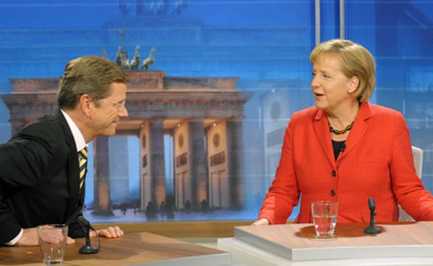 עימות בגרמניה (צילום: AP)