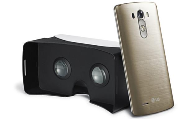 משקפי המציאות המדומה של LG וגוגל (צילום: LG)
