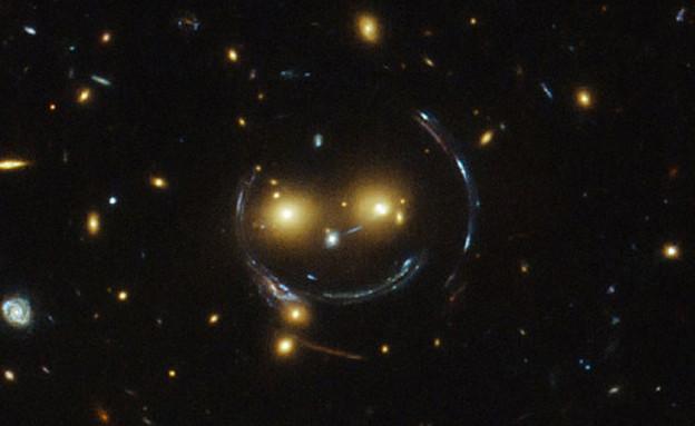חיוך בחלל (צילום: NASA)
