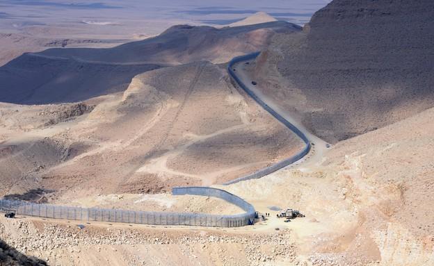 גדר הגבול בין מצרים לישראל (צילום: GPO, GettyImages IL)