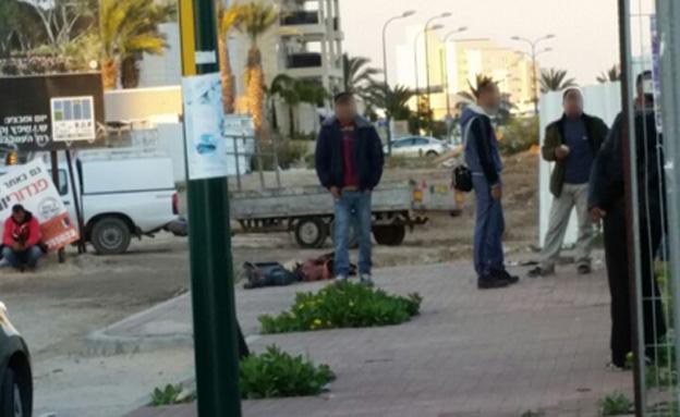 אתר הבנייה באשדוד