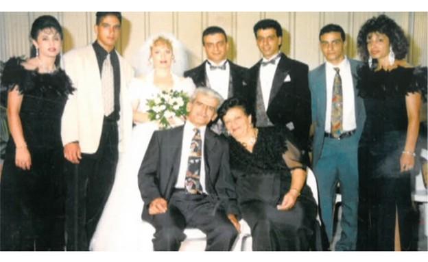 החתונה של נורמן עיסא (תמונת AVI: תומר ושחר צלמים, שידורי קשת)