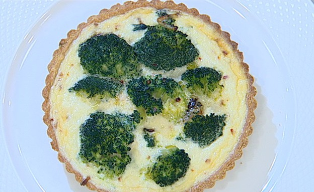 קיש ירקות (צילום: קשת, מאסטר שף VIP)