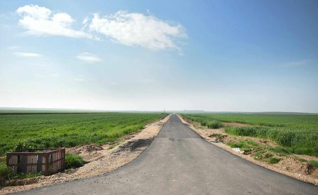תיקון כבישים ביישובי הדרום