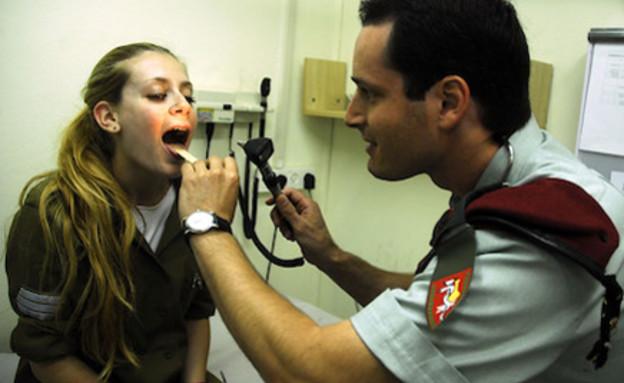 """זימון תור לרופא צבאי (צילום: דו""""צ)"""
