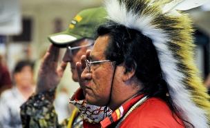 """ריצ'ארד גרייבול, חייל-לשעבר אינדיאני בצבא ארה""""ב (צילום: Jay Mann, U.S Army)"""